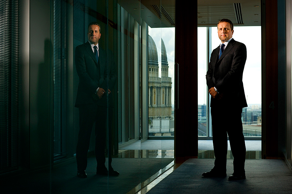 Executive business photography in London