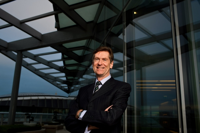 Portrait of Norton Rose CEO for American lawyer magazine by Martin Beddall