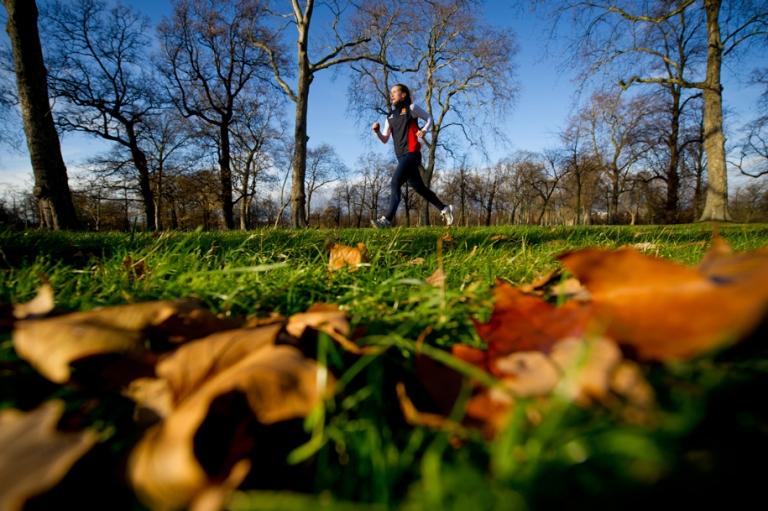 Portrait of a runner