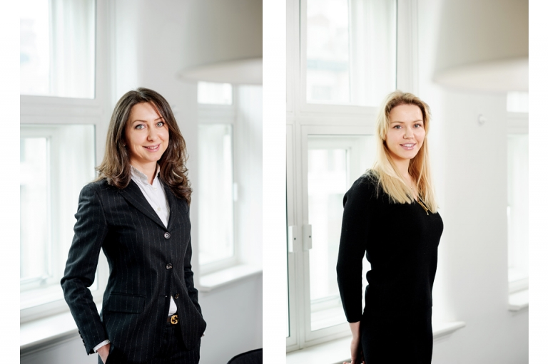 Female corporate portaits in London