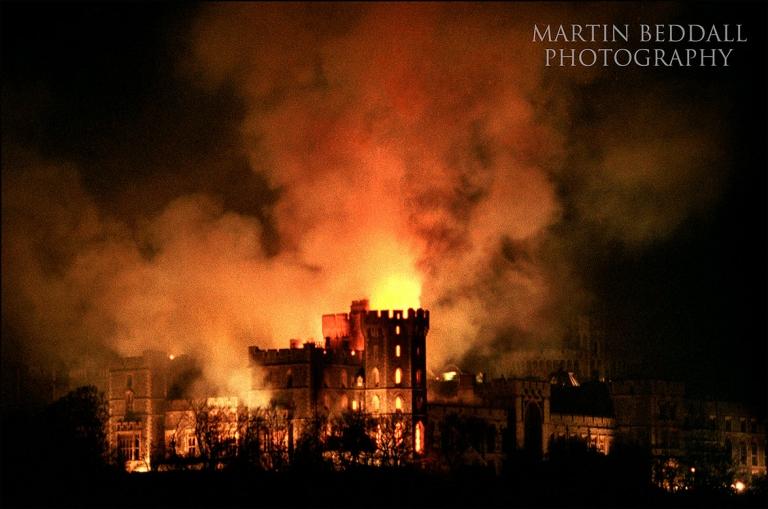 Windsor Castle Fire