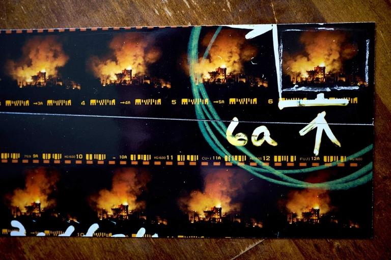 Windsor Castle fire contact sheet