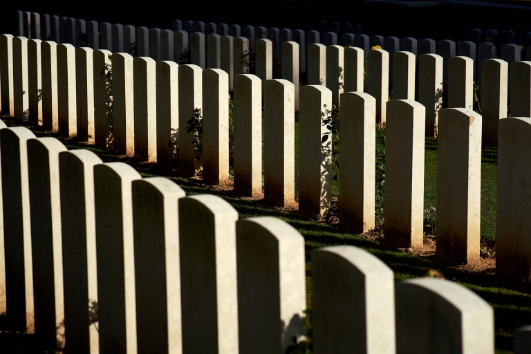 WWI cemetery in France