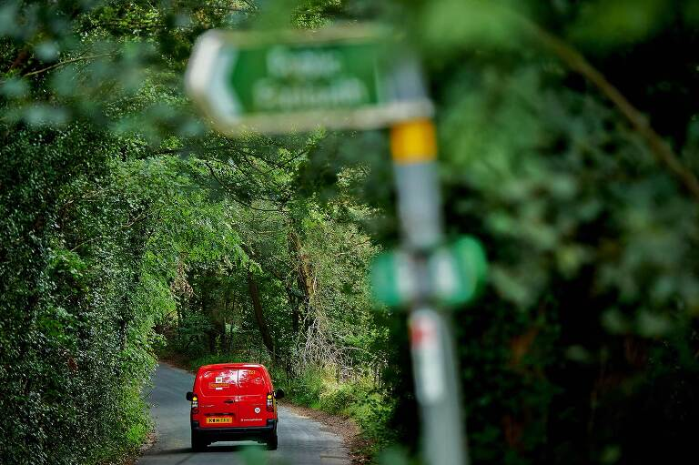 Corporate reportage photography shot for The Royal Mail