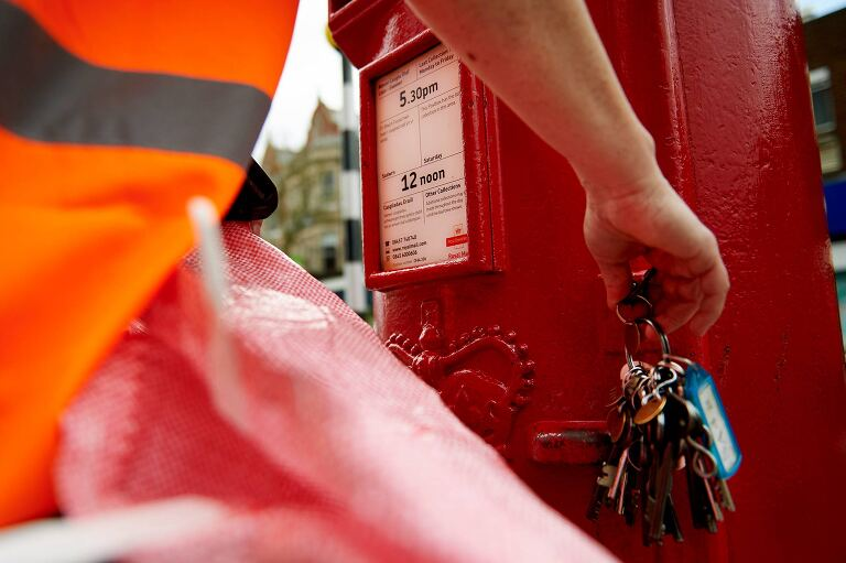 Corporate image library reportage for The Royal Mail